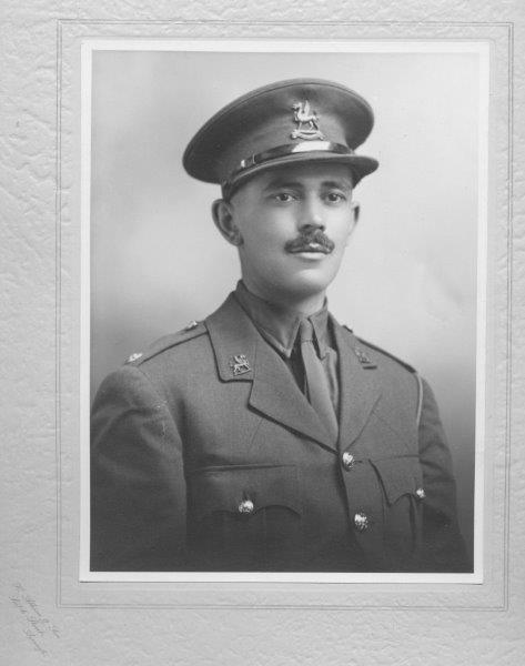 Lt W R Watkins 2nd Monmouthshire Regt