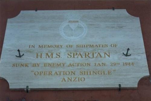 spartan memorial