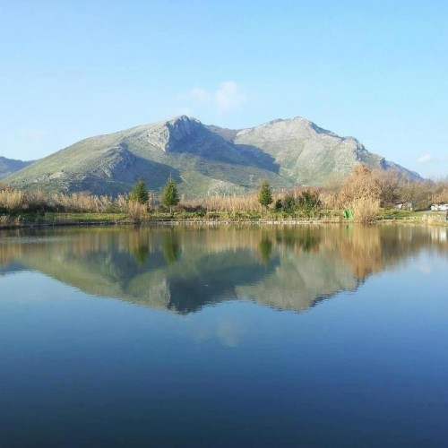 reflection of Monte Camino 2