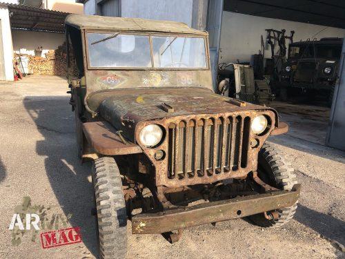 Kiwi Willys Jeep Found In Italy Italy Star Association 1943 1945